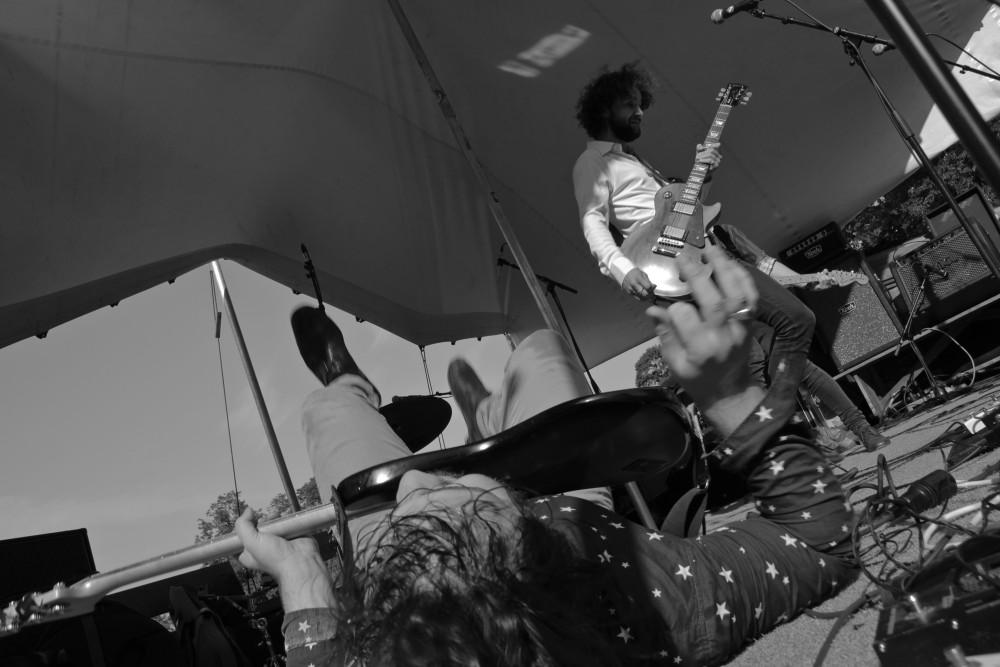John Monday Band in Leuwaarden Uit Festival